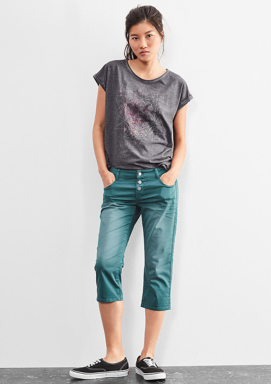 704954342be Q S designed by Dámské žerzejové krátké kalhoty