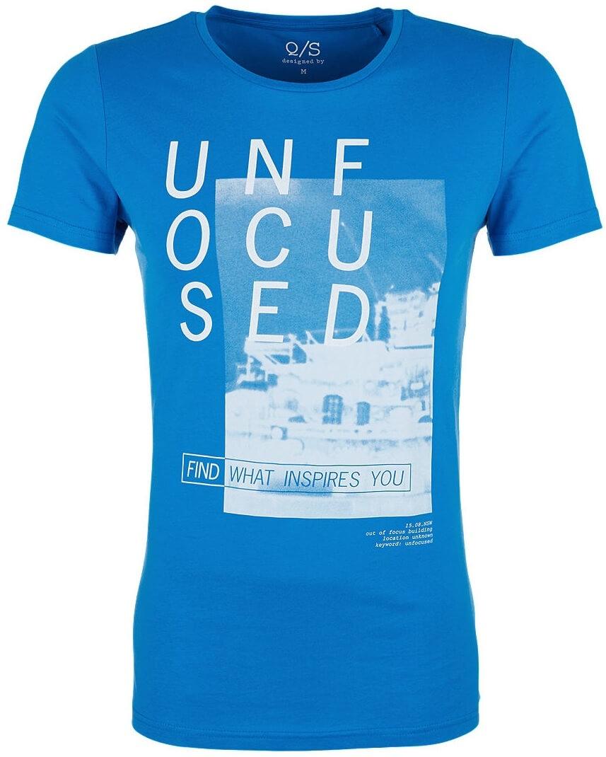 4a43697afd3d3 Q/S designed by Pánske tričko 40.807.32.4990 .5526 Royal Blue ...
