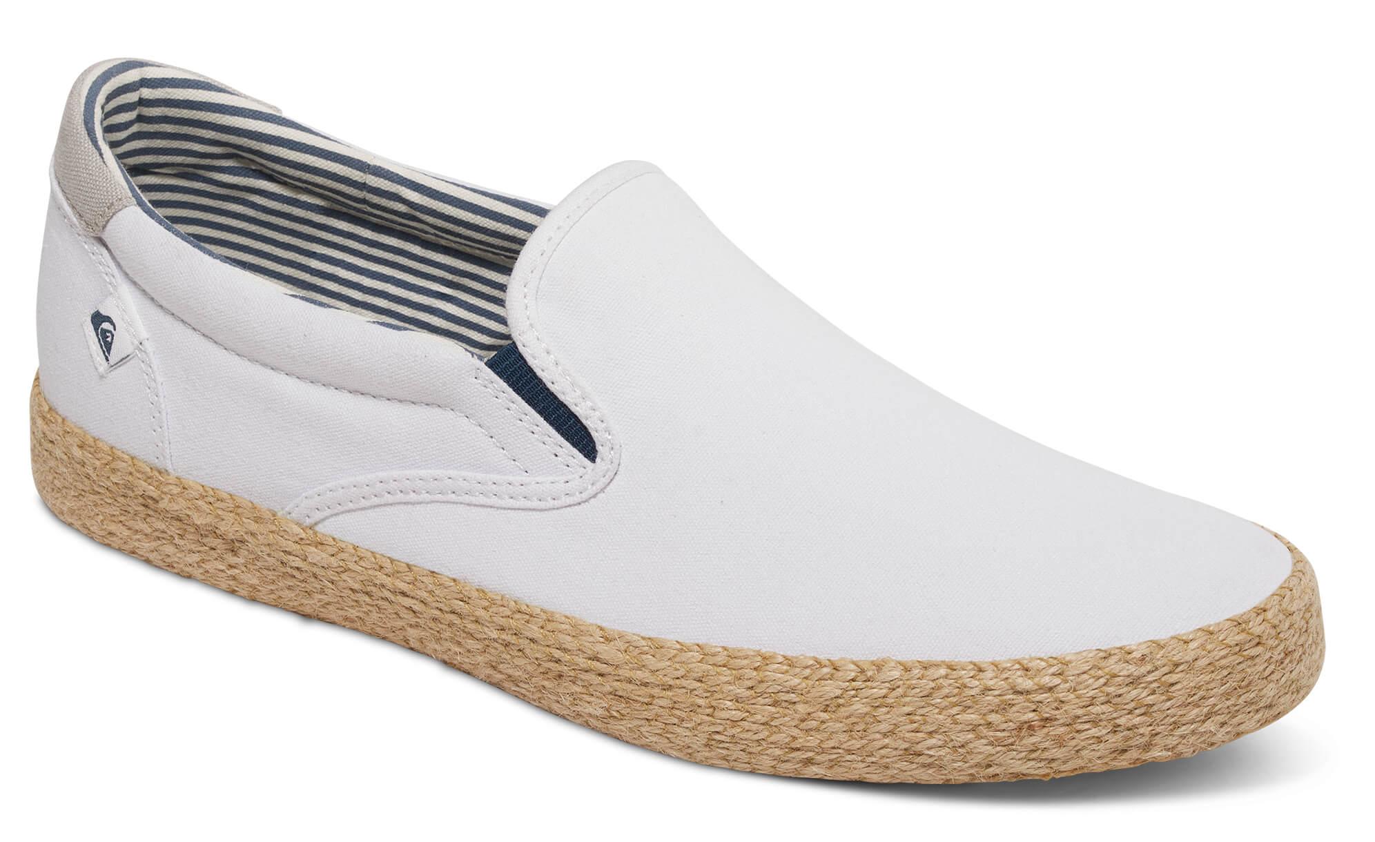 Quiksilver Pánské tenisky Shorebreak Slip-on Esp White White Brown  AQYS300056-XWWC 5911a5b59a