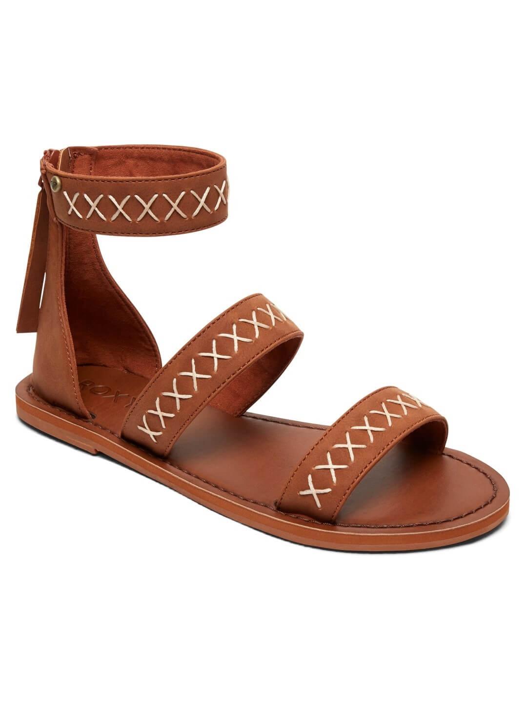 e5352ab06286 Roxy Dámske sandále Natalie Brown ARJL200621 BRN