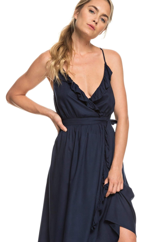 dcc7ea9c3c6 Roxy Dámské šaty Rooftop Sunrise Dress Blues ERJWD03304-BTK0 Doprava ...