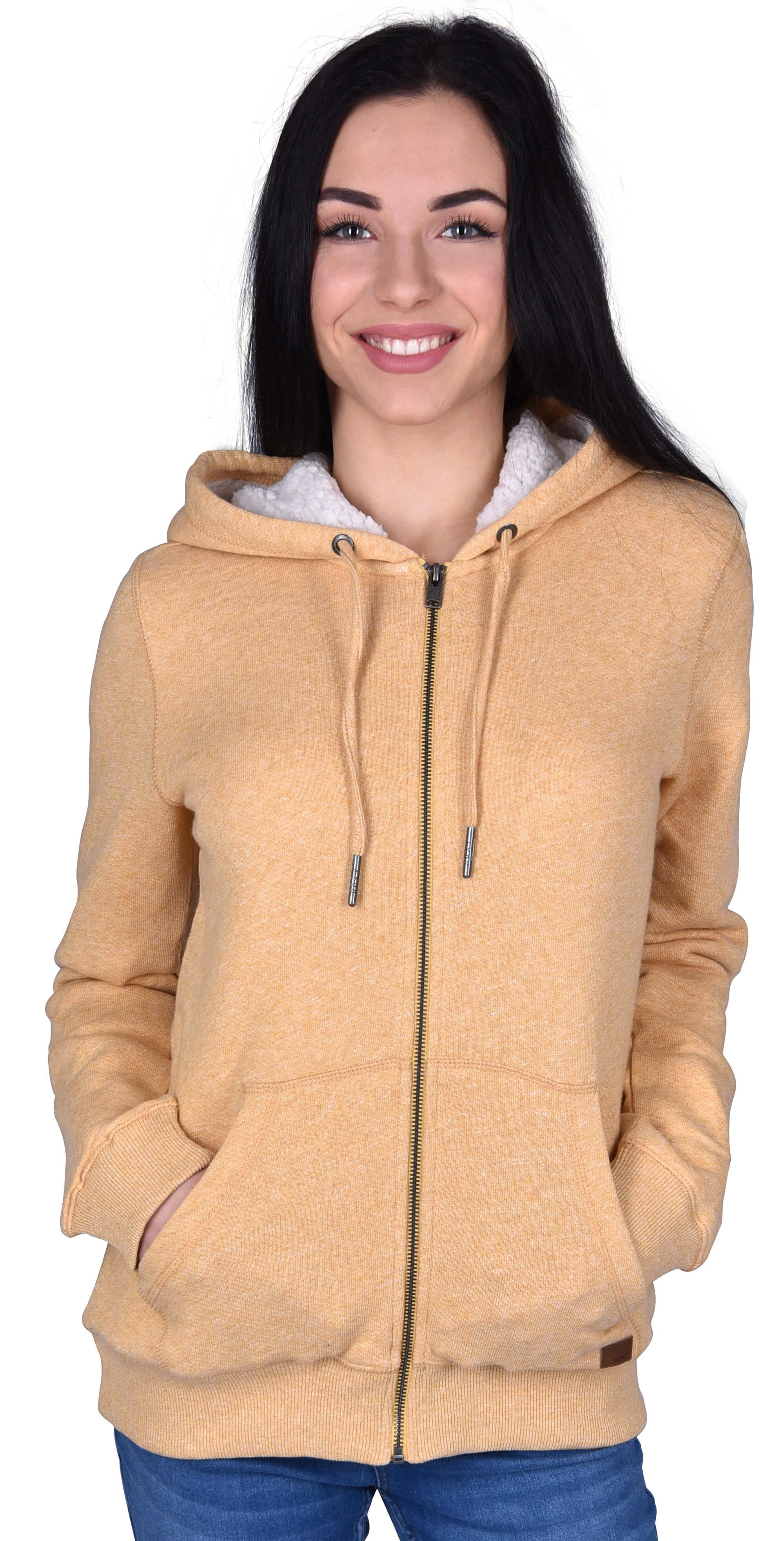 Roxy Dámská mikina Trippin Sherpa Fall Leaf ERJFT03821-YJG0 Doprava ... 32d50a154c