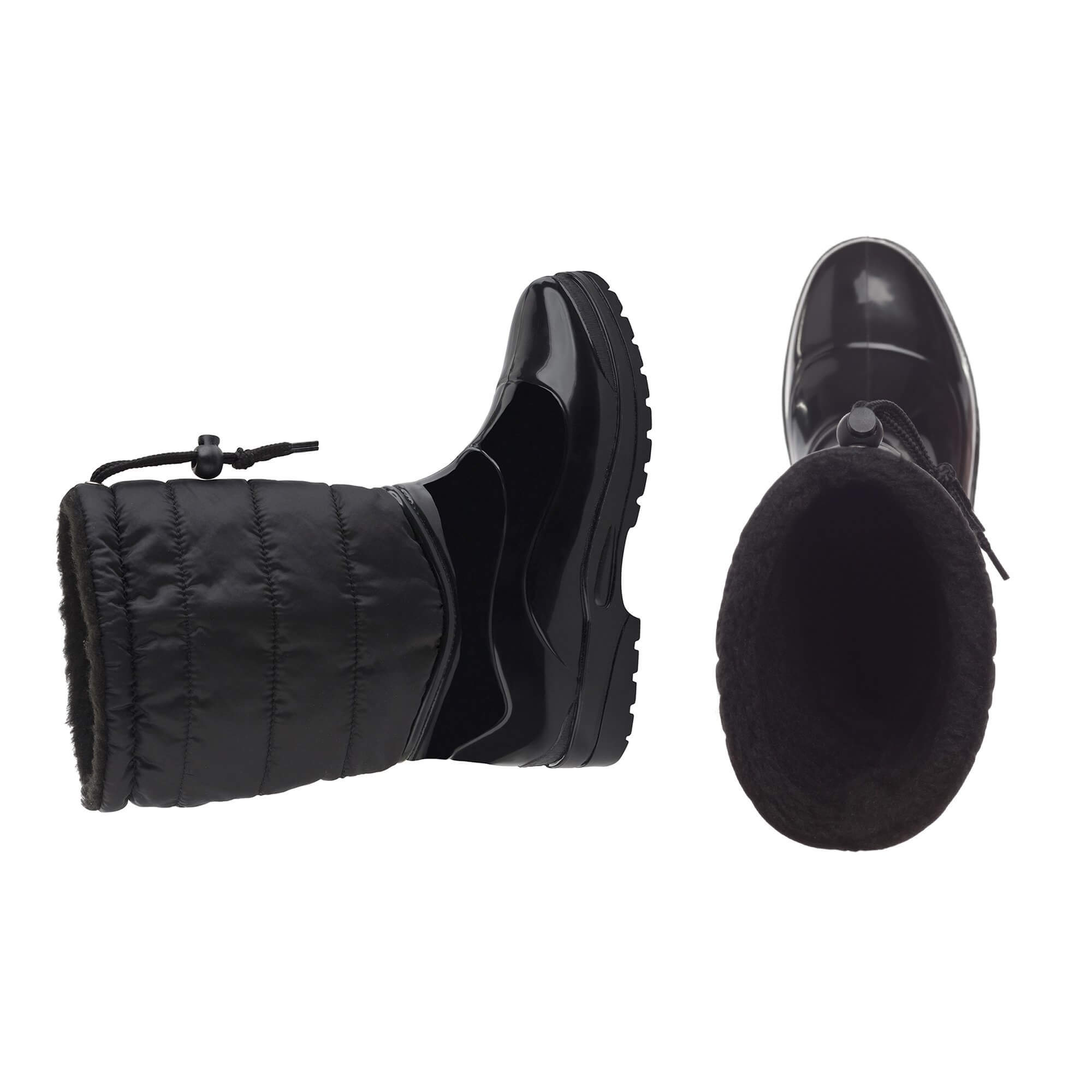 Scholl Dámske čižmy s kožušinkou Vestman Memory Cushion Black ... 945a514aac6