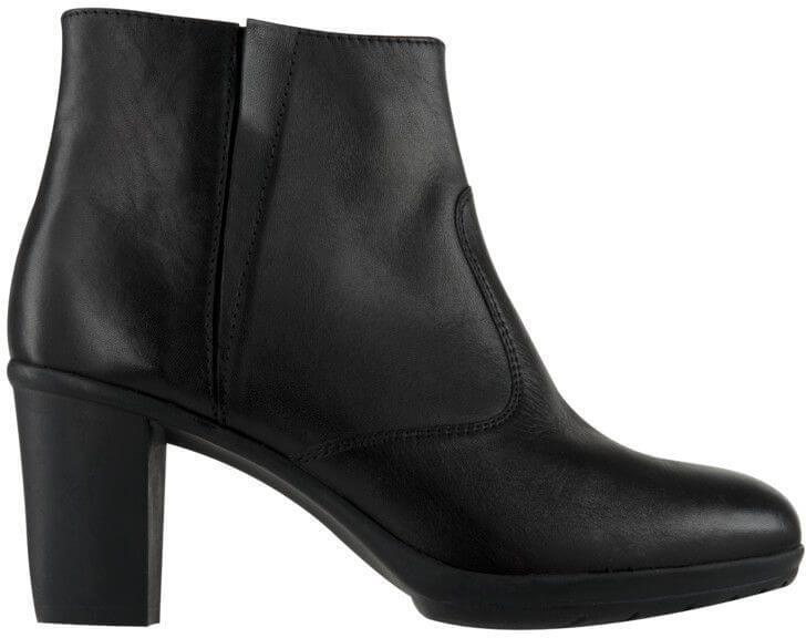 Scholl Kožené členkové topánky Orelle Memory Cushion Black ... d6e18f4e61f