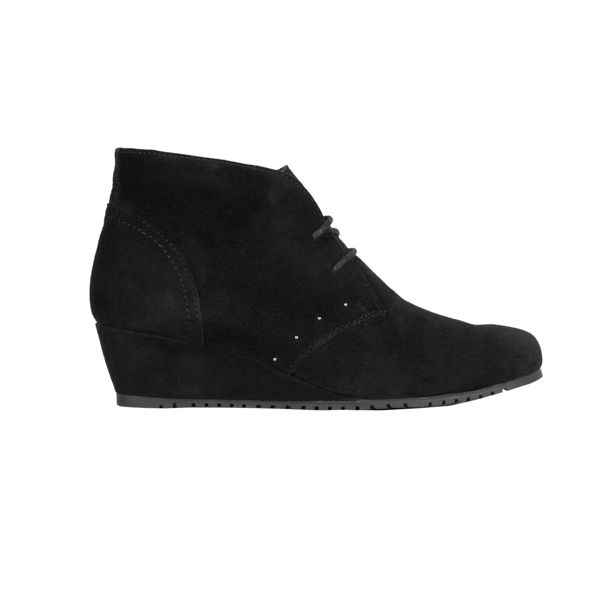 Scholl Dámske členkové topánky Lorelie Memory Cushion Black ... 65e86290973