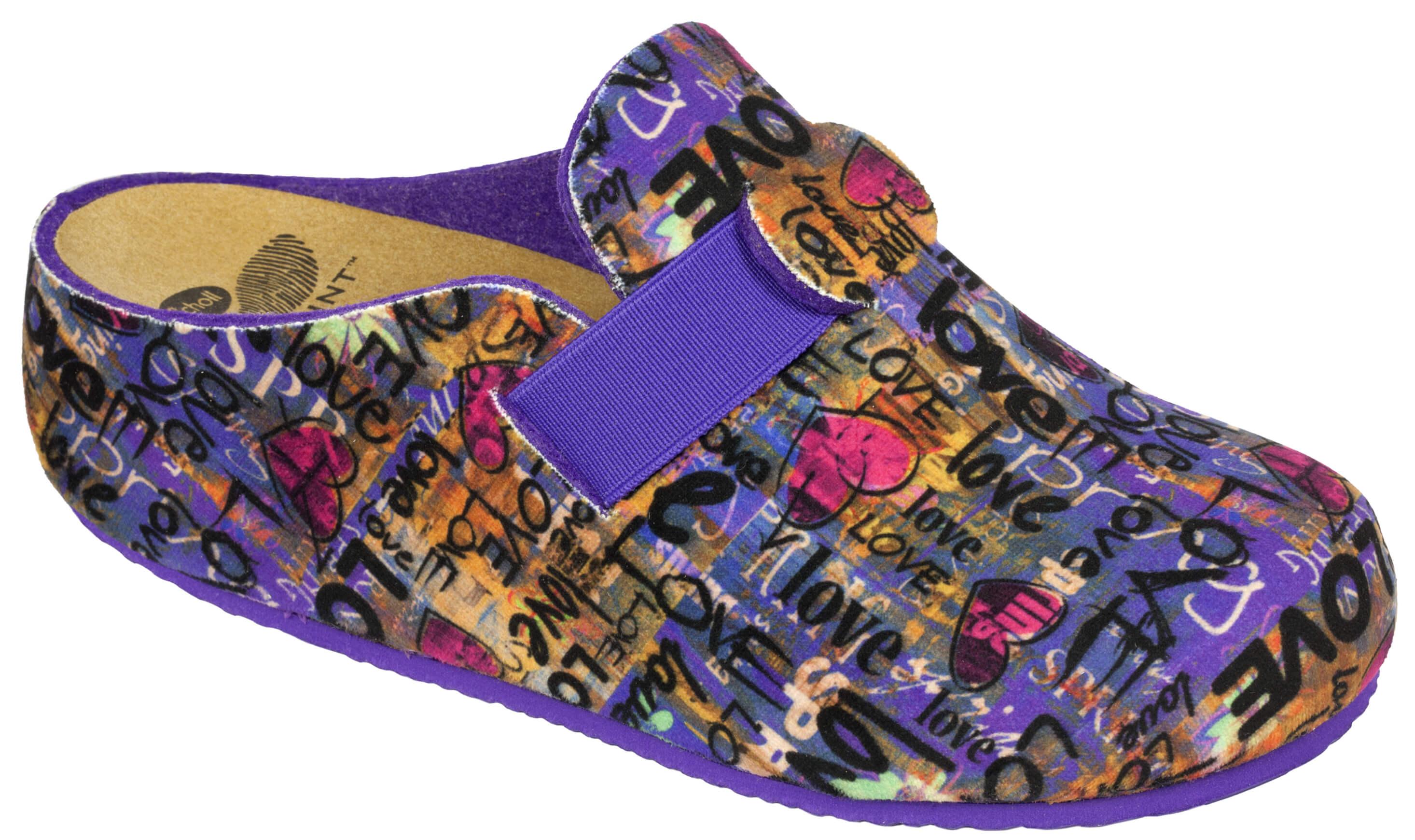 1dd698468f9 Scholl Dámské pantofle Lareth Bioprint Multi F267091039