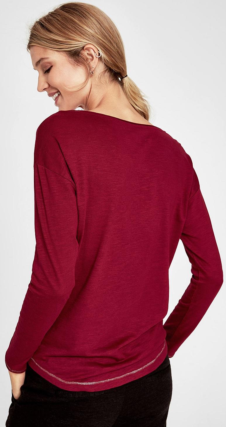 S.Oliver Női póló 14.809.31.8309 .3873 Répa piros. Előző  Következő   7f245f6afb
