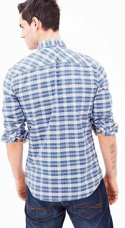 8fdfbdb6c29 Oliver Pánská modro-bílá kostkovaná košile Regular Fit. Předchozí  Další