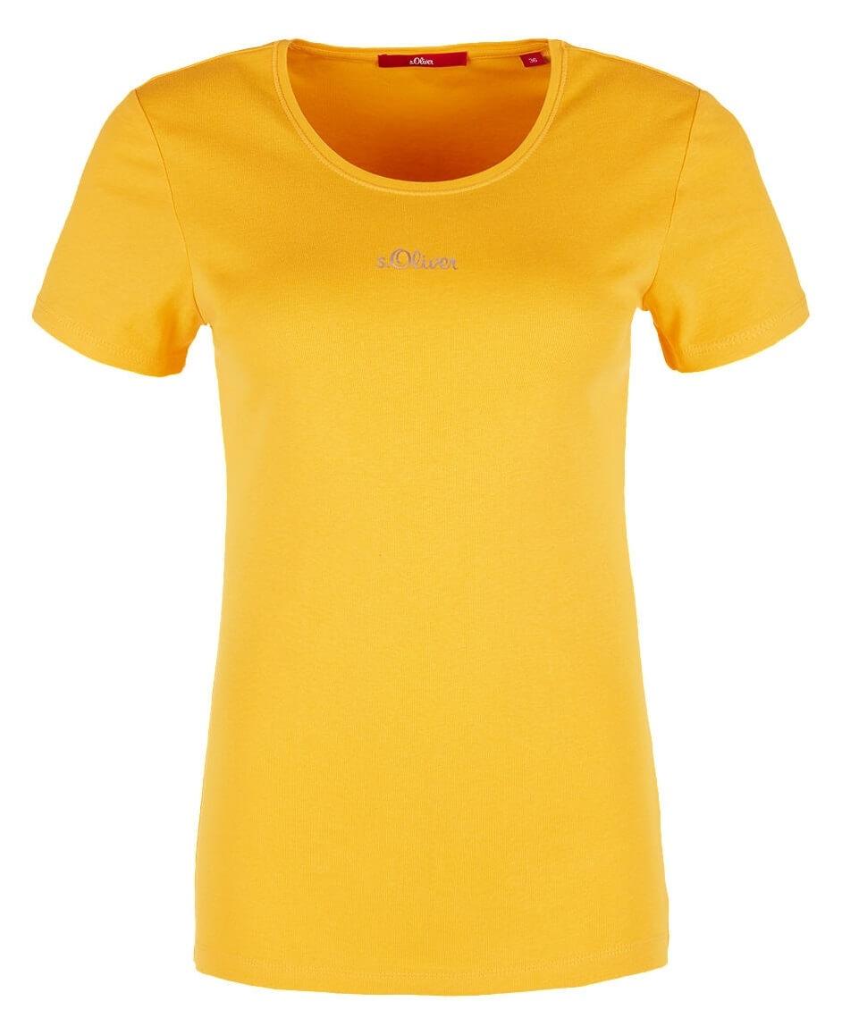 S.Oliver Női póló 14.902.32.5070.1390 Pure Yellow  9ab8080fce