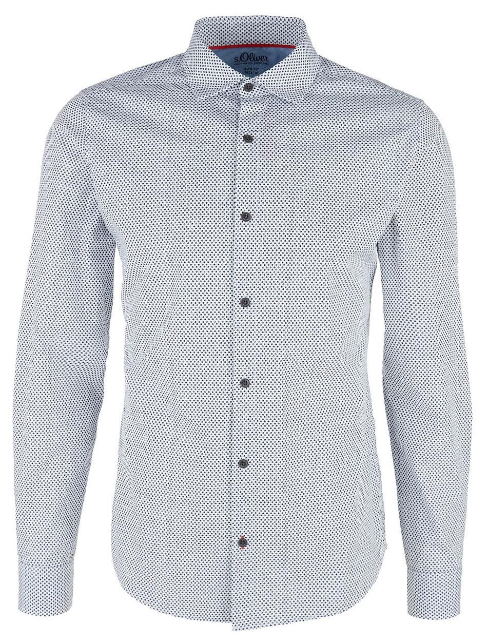 b1406b8e098 S.Oliver Pánská košile 13.901.21.6775.0100 White