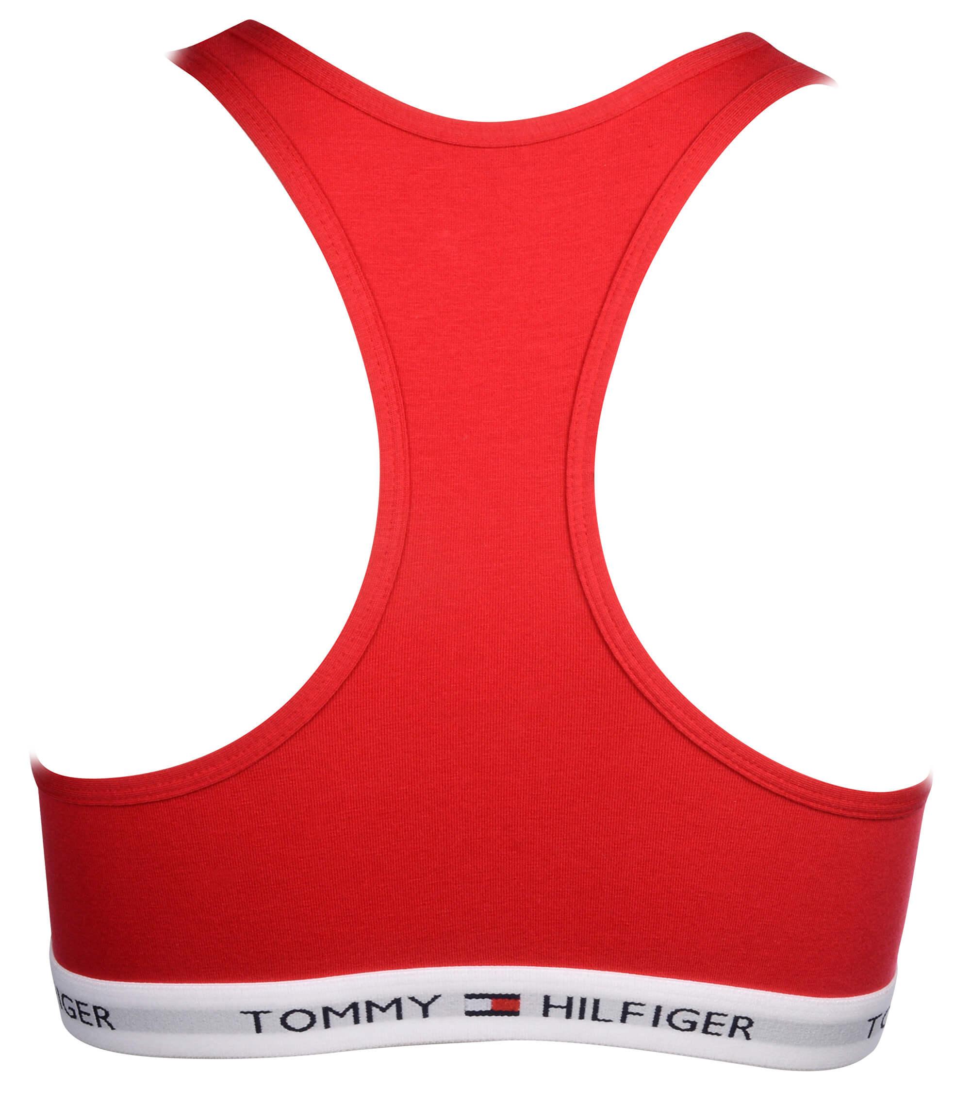 6da3c2f56 Tommy Hilfiger Dámská sportovní podprsenka Cotton Iconic Bralette  1387904878-631 Crimson. Předchozí <Další >