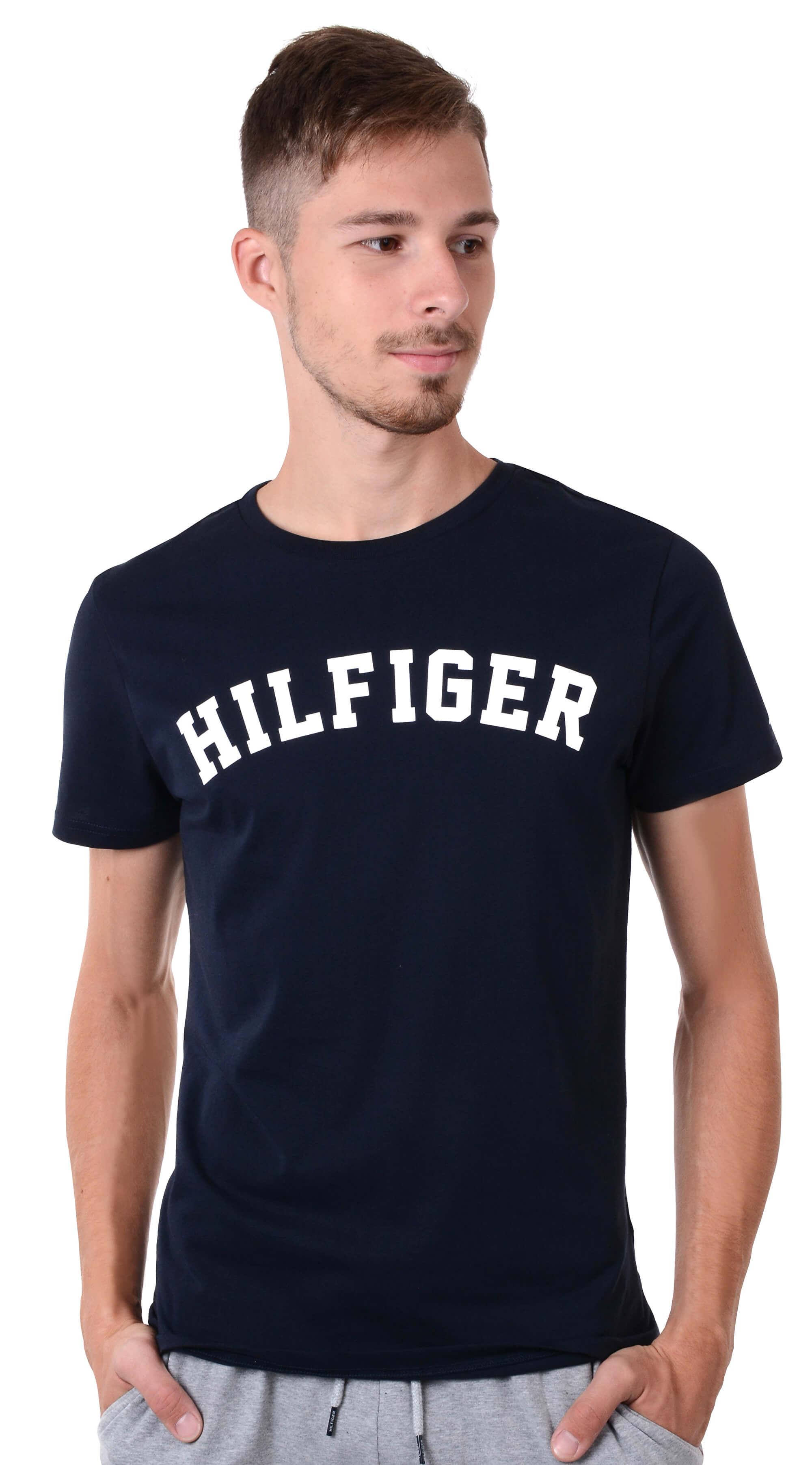 12166e724417 Tommy Hilfiger Pánské triko Cotton Icon SS Tee Logo Navy Blazer  UM0UM00054-416. Předchozí  Další