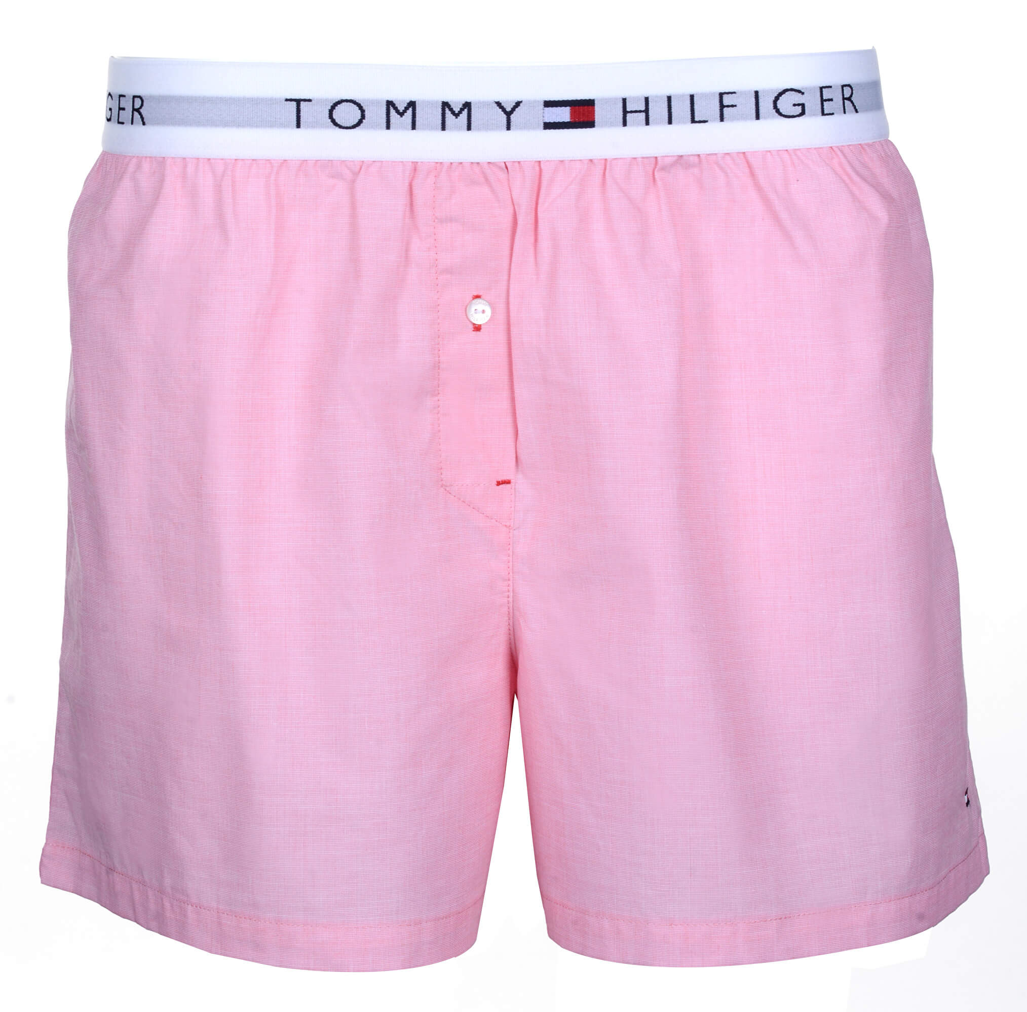 Tommy Hilfiger Dámské boxerky Woven Boxer End On End Calypso Coral  UW0UW00691-662 eb9628eddc
