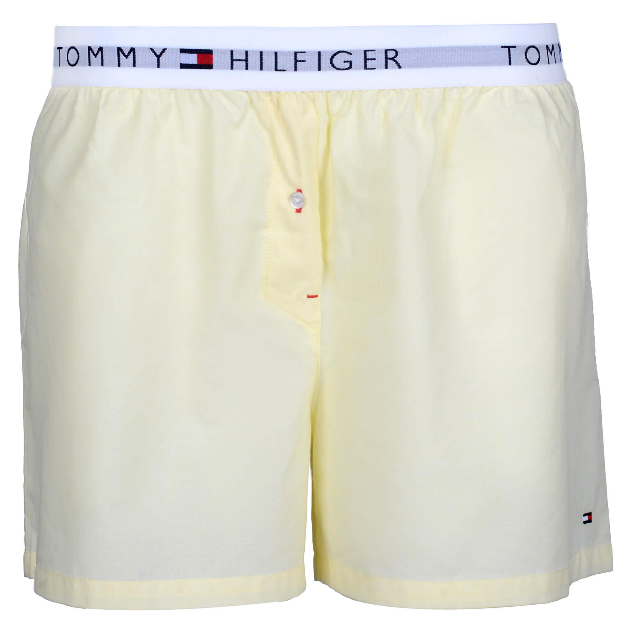 Tommy Hilfiger Dámské boxerky Woven Boxer End On End Yellow Cream UW0UW00691 -708 3b24757b15