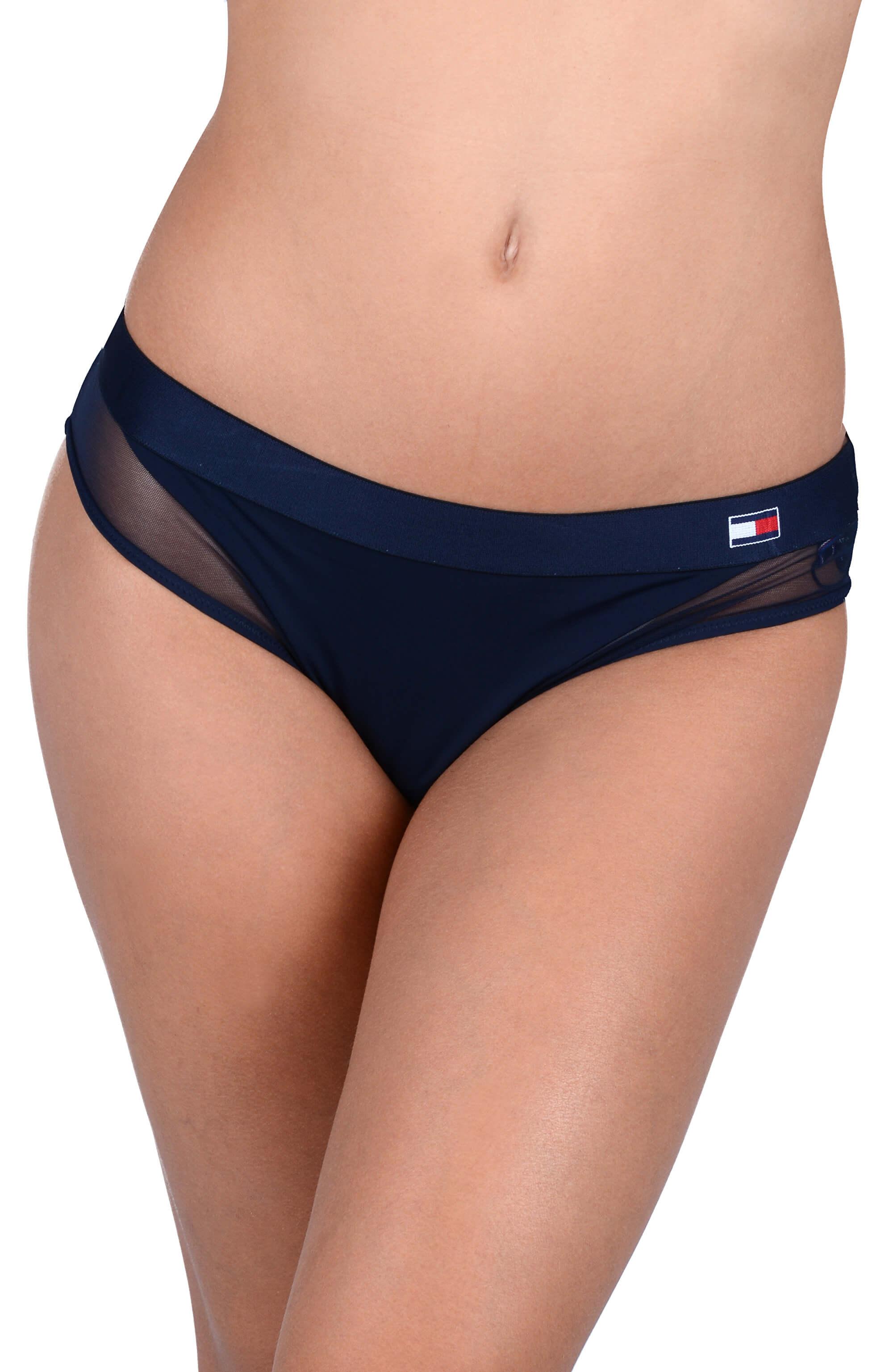 c37f70948e8 Tommy Hilfiger Dámské kalhotky Flag Core Mf Bikini Navy Blazer UW0UW01047- 416