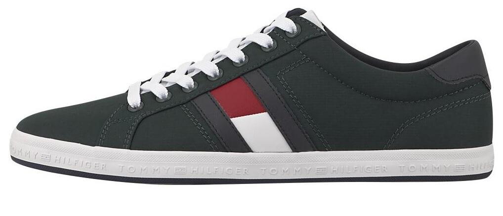 9368ad26a6 Tommy Hilfiger Pánské tenisky Essential Flag Detail Sneaker FM0FM15335-300
