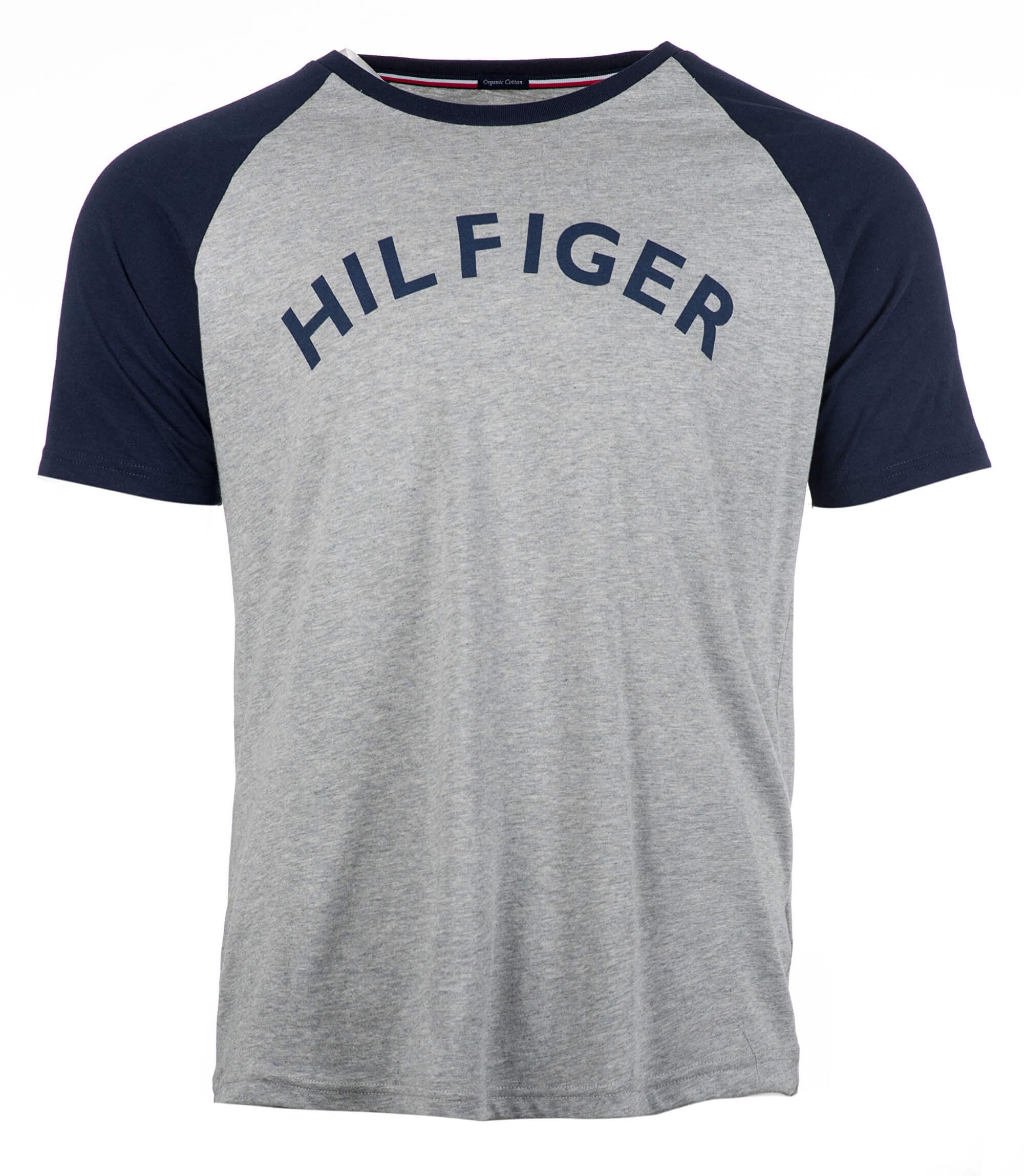Tommy Hilfiger Pánské triko Cn Tee Rs Logo Grey Heather UM0UM00699 ... c17c8adb854