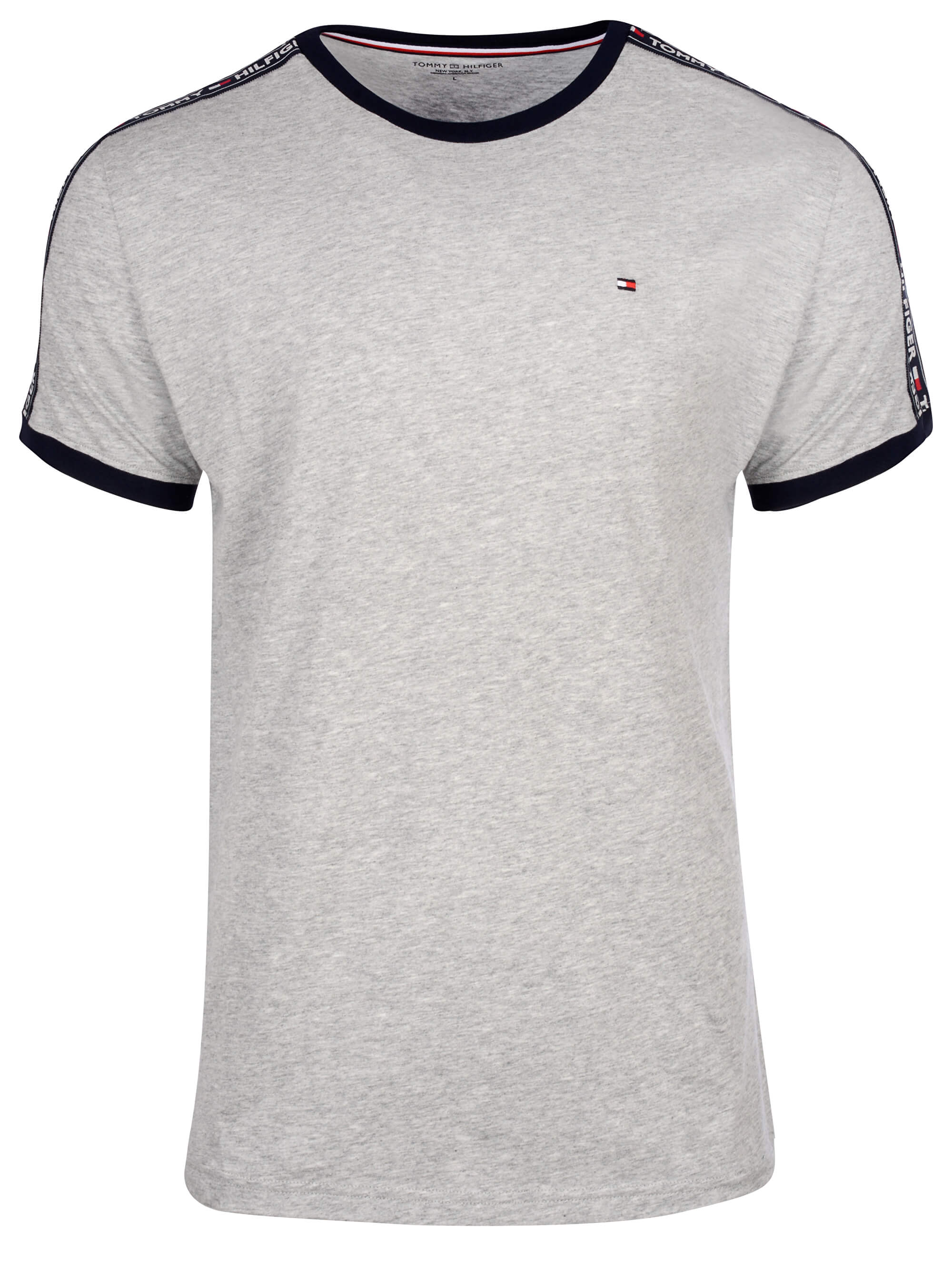 Tommy Hilfiger Pánské triko Authentic Rn Tee Ss UM0UM00562-004 Grey Heather 31a42c66fce