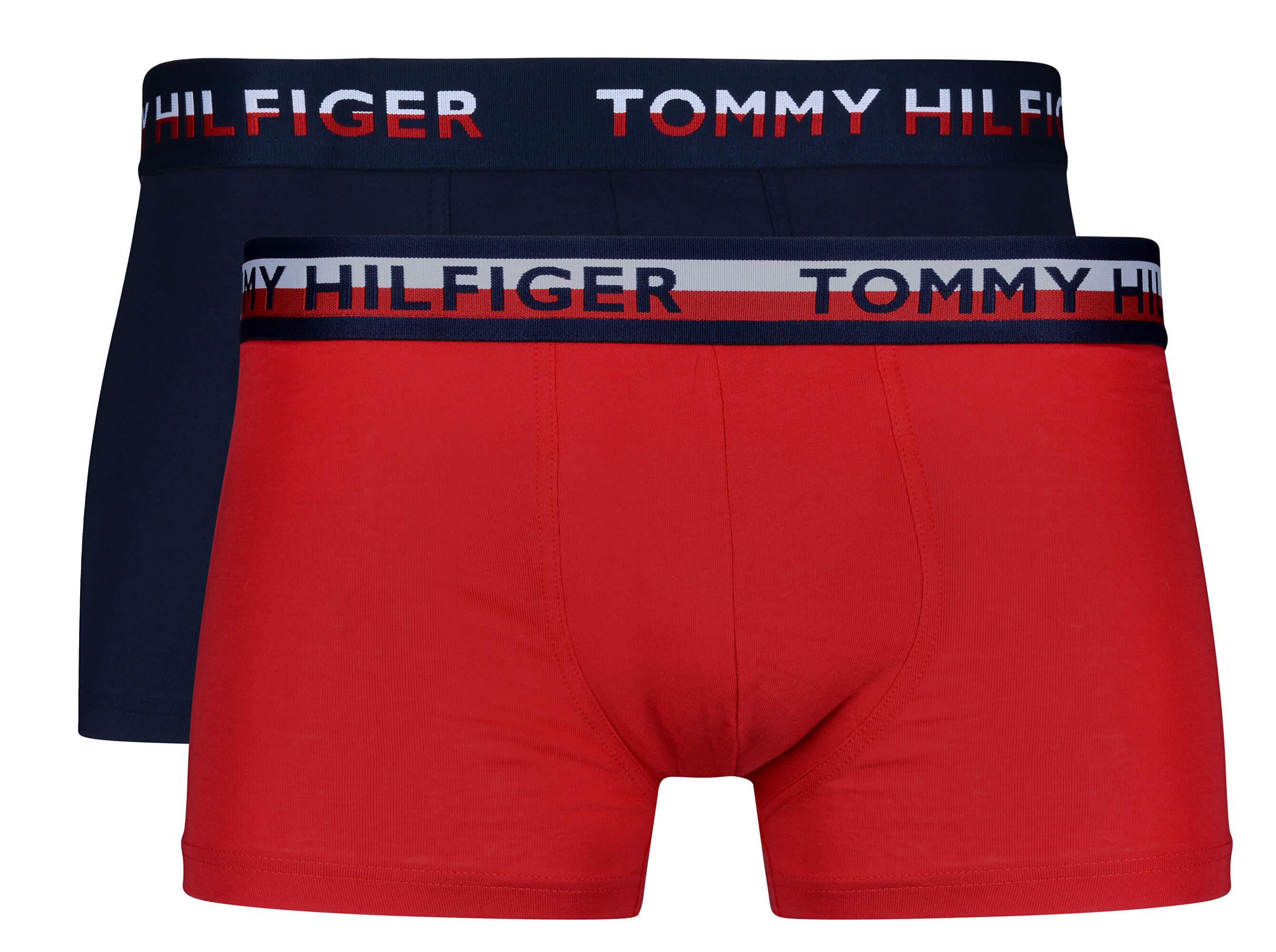 Tommy Hilfiger Boxeralsó szett TH2 Trunk Tango Red Navy Blazer UM0UM00746 -062 9462da6f70