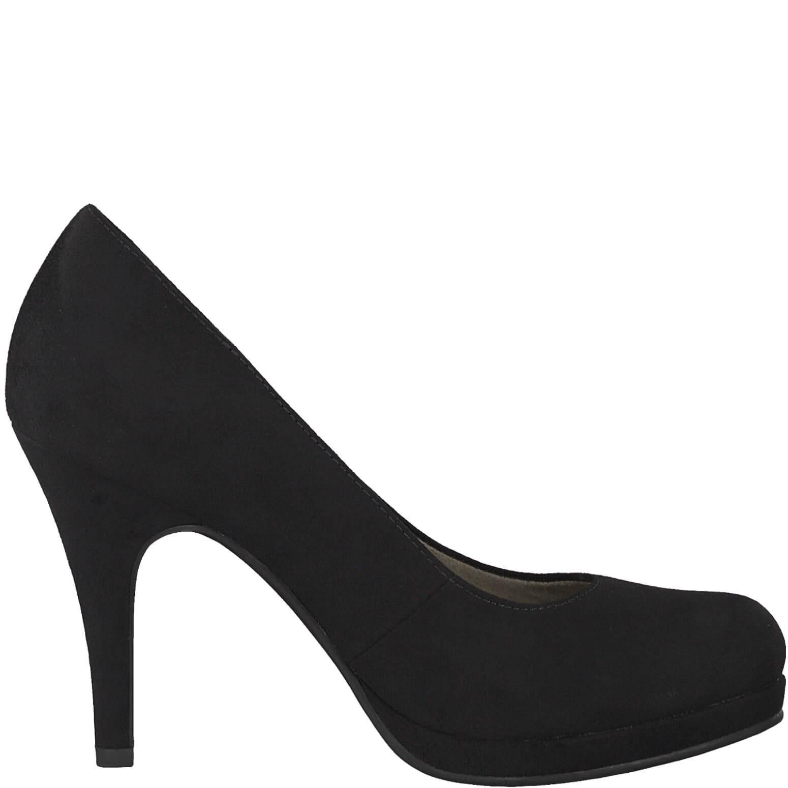 Tamaris Női magassarkú cipő 1-1-24427-31-004 Black kaméle  a2d02197f7