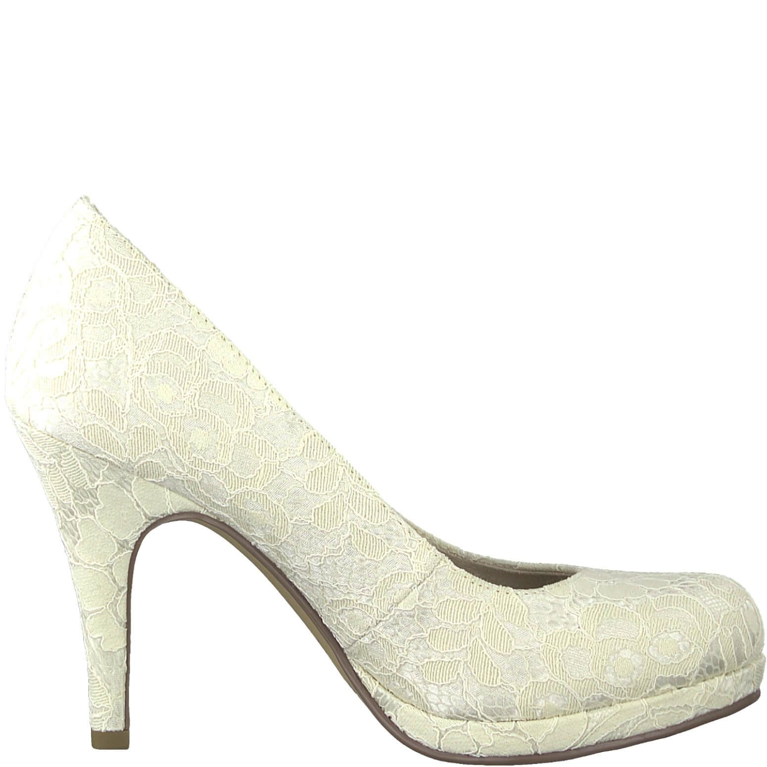 Tamaris Női alkalmi cipő 1-1-22407-22-419 Ivory Macramee Ingyenes SZÁLLÍTÁS   6af06dfd0b