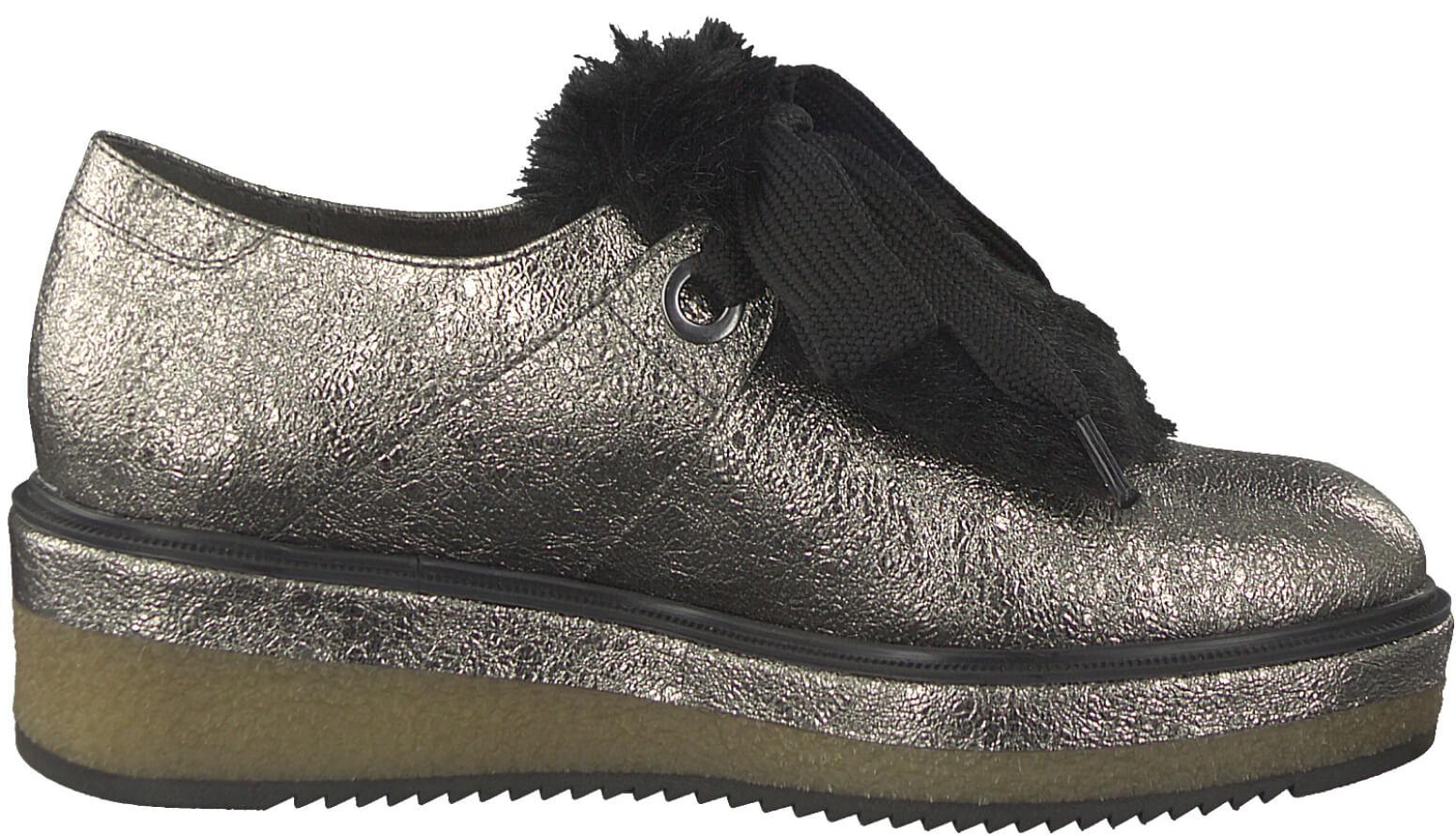 f078bf552a0 Tamaris Elegantní dámská obuv 1-1-24717-39-964 Pewter Struct. Předchozí   Další