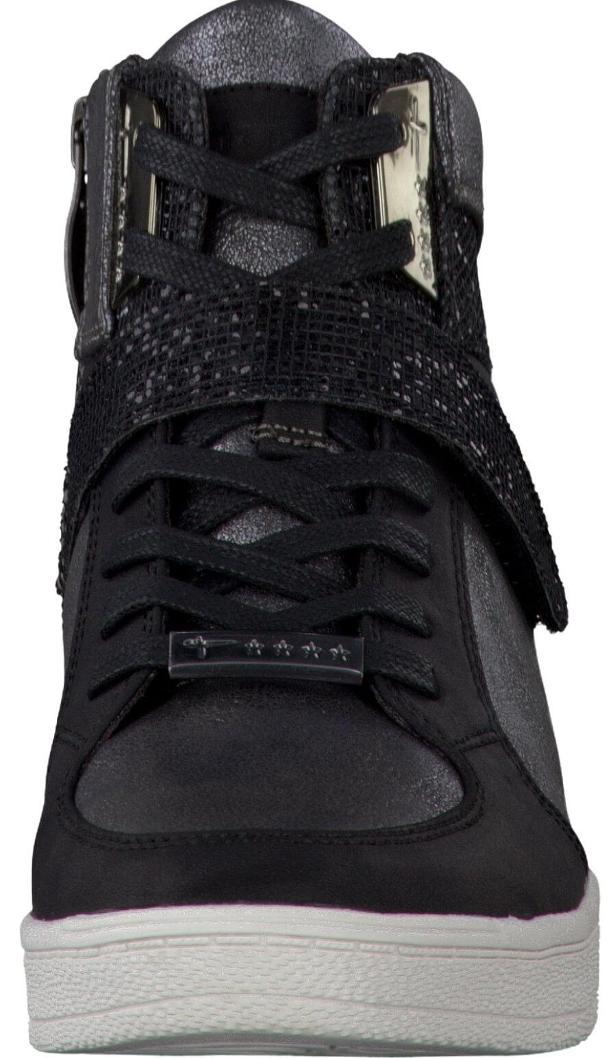 Tamaris Elegáns női cipő 1-1-25201-38 098 fekete fésű Ingyenes ... 916c7ecff4