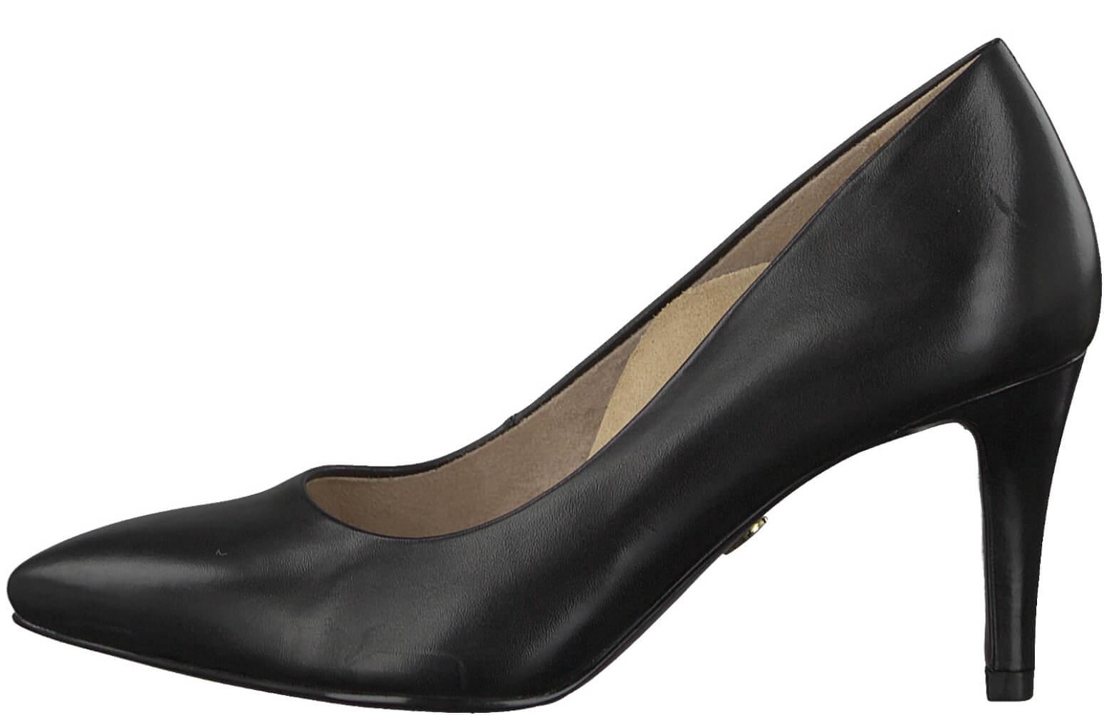 Tamaris Elegáns bíróság cipő 1-1-22411-29-001 Fekete Akcióban. Előző   Következő   b9059e9ce2