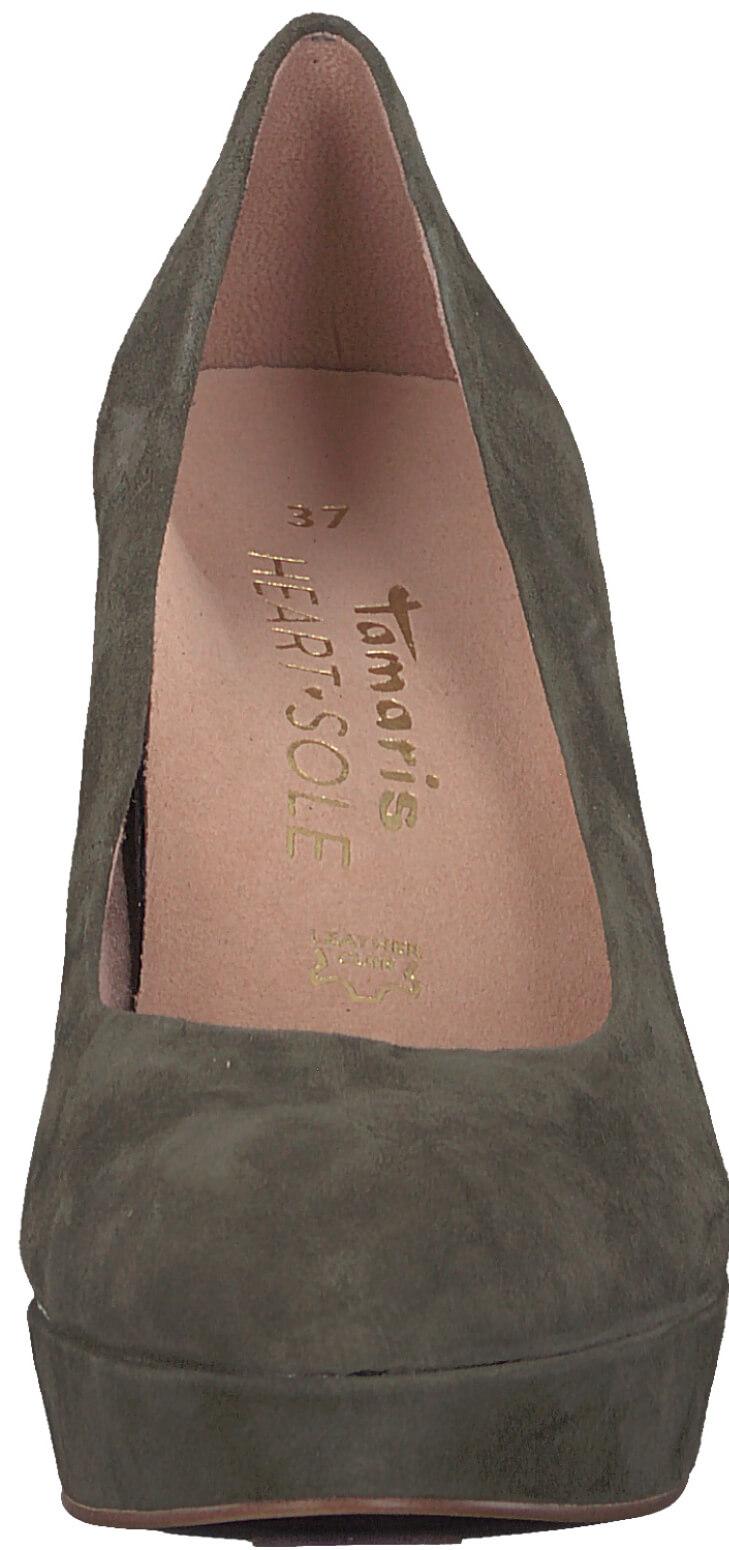 Tamaris Elegáns bíróság cipő 1-1-22413-29-744 Olive Suede Akcióban. Előző   Következő   9dd9ec8156