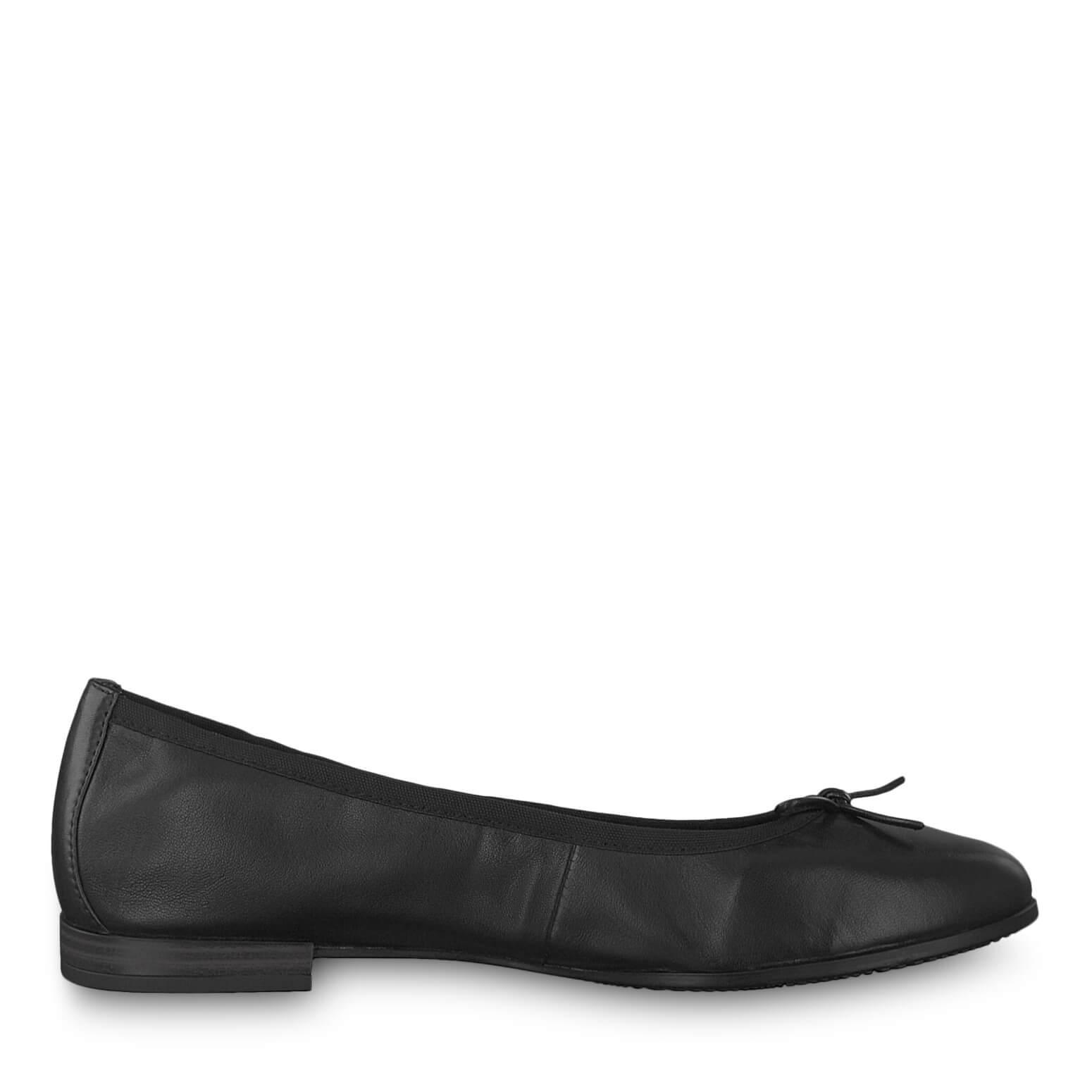 Tamaris Elegant női balerina 1-1-22116-22 -001 Black Ingyenes SZÁLLÍTÁS  1489787361