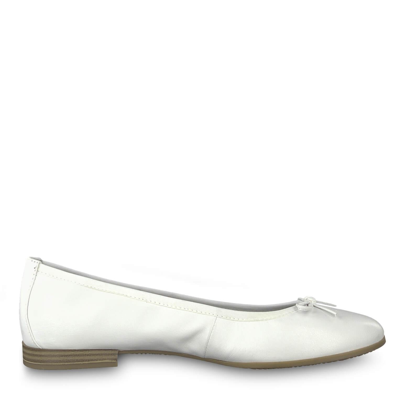 Tamaris Elegant női balerina 1-1-22116-22 -100 White Ingyenes SZÁLLÍTÁS  b730990517