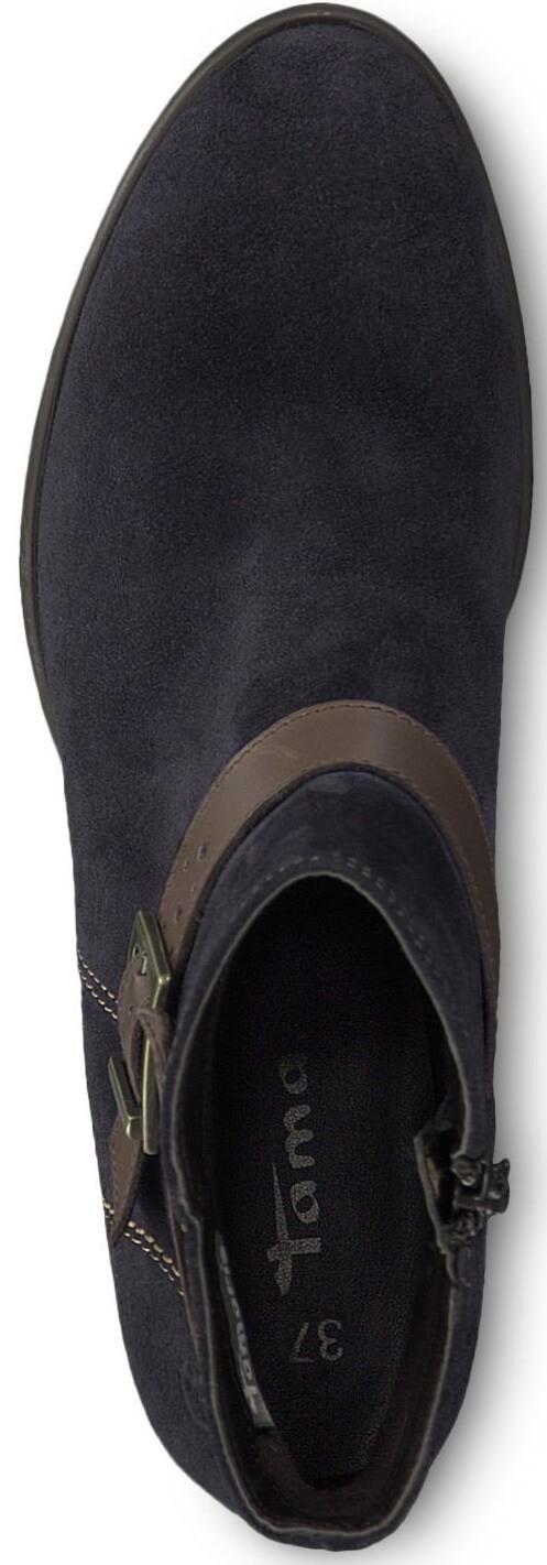 a1cb80be7ff Tamaris Elegantní dámské kotníkové boty 1-1-25010-21-833 Navy  V akci.  Předchozí  Další