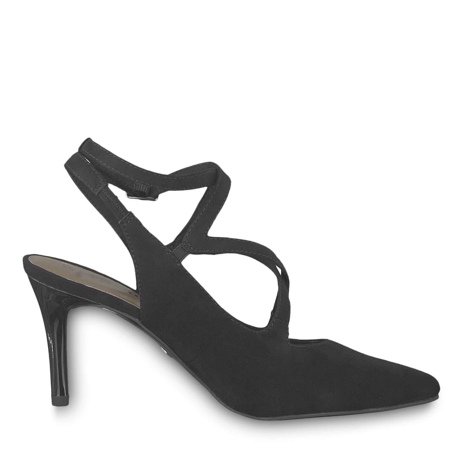 Tamaris Elegáns alkalmi cipő 1-1-29605-22-001 Black Ingyenes SZÁLLÍTÁS  e8d87e9688