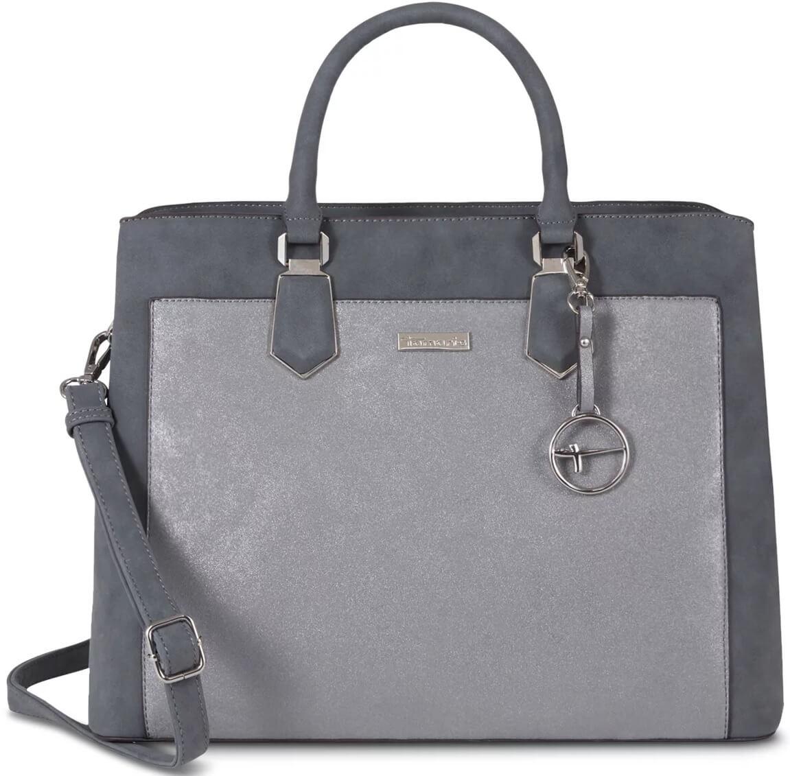 Tamaris Dámská kabelka Elsa Business Bag 2812182-295 Grey Comb ... 6cfb39559a7