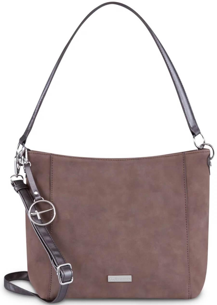 Tamaris Dámská kabelka Olympia Hobo Bag S 2894182-395 Dark Brown Comb. 3acdc8e186f