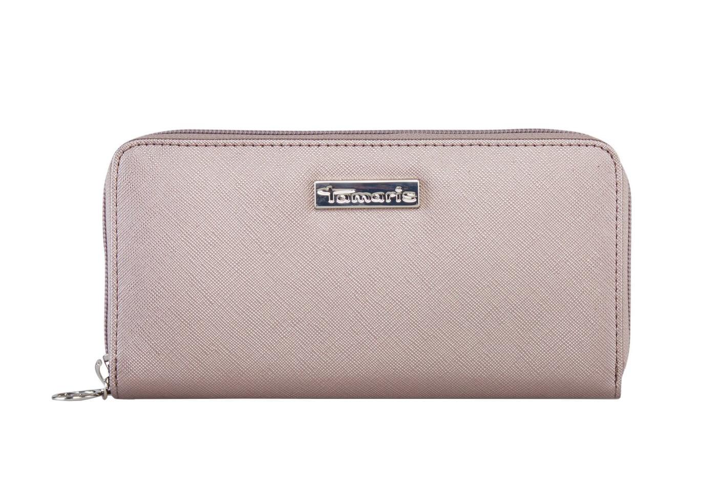 Tamaris Női pénztárca Maxima nagy cipzáras pénztárca 7131182-915 Pewter fda817ef77