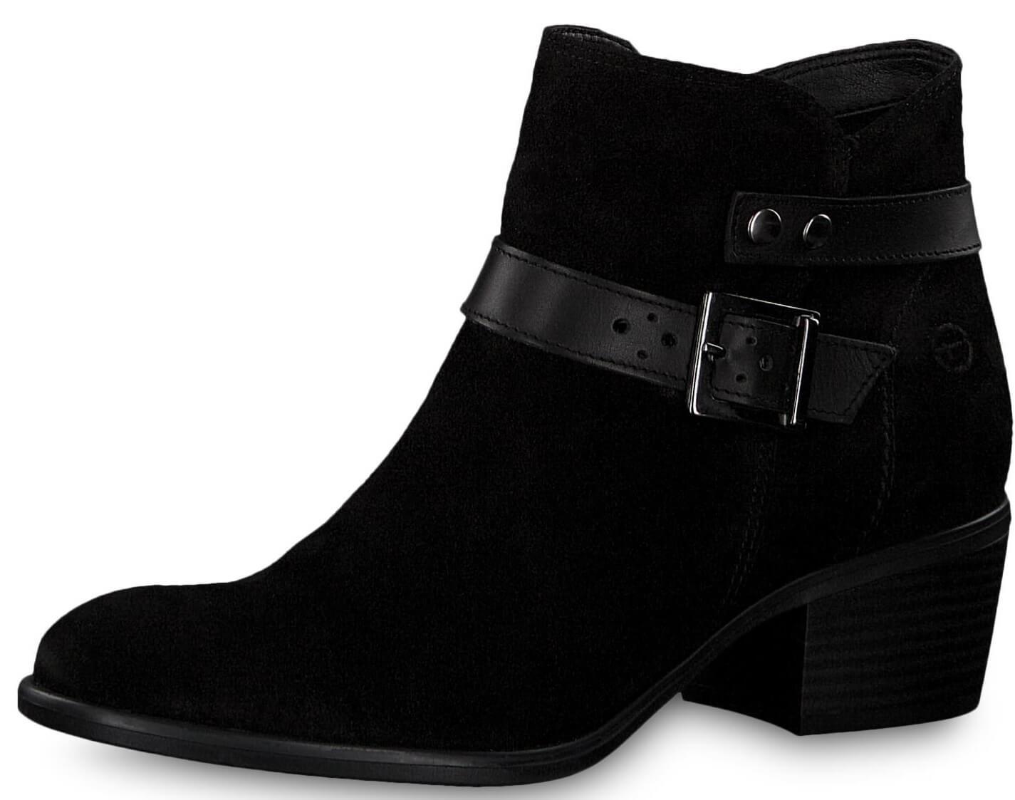 Tamaris Dámské kotníkové boty 1-1-25010-21-007 Black Uni Doprava ... bb901280c0