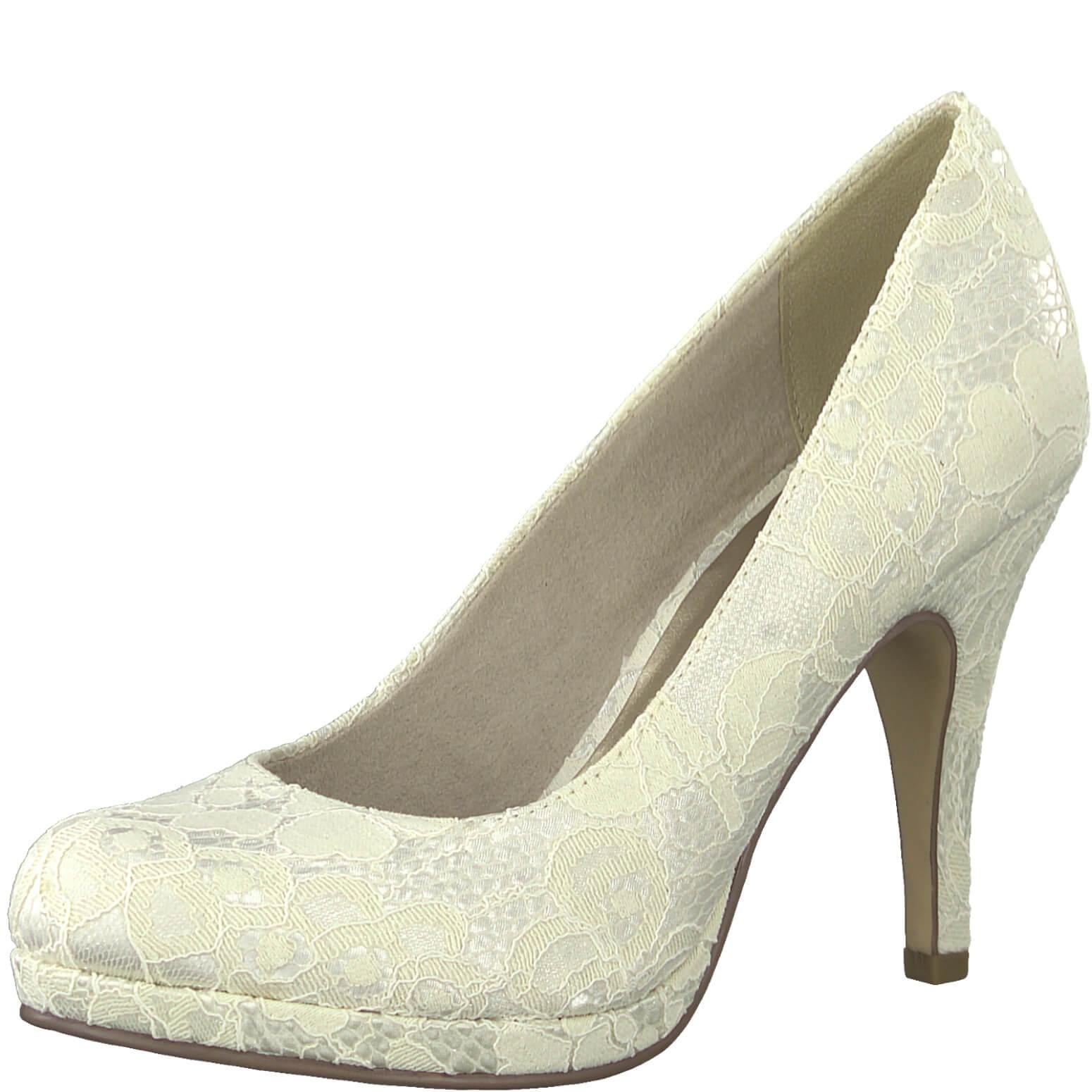 Tamaris Női alkalmi cipő 1-1-22407-22-419 Ivory Macramee Ingyenes ... b4fb24bfe1
