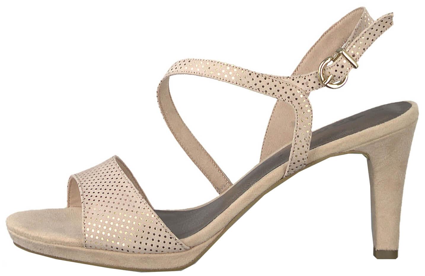 0080f445fd15 Tamaris Dámské sandále 1-1-28318-22-967 Rose Dots