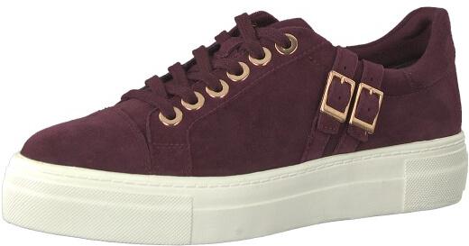 537 1 Tamaris 1 21 SZÁLLÍTÁS cipő Női Merlot Ingyenes 23715 sneaker wS67Hq0AI6
