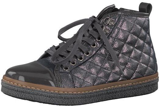 Tamaris Elegantní dámské kotníkové boty 1-1-25725-39-234 Anthracite ... d342a5ac9f
