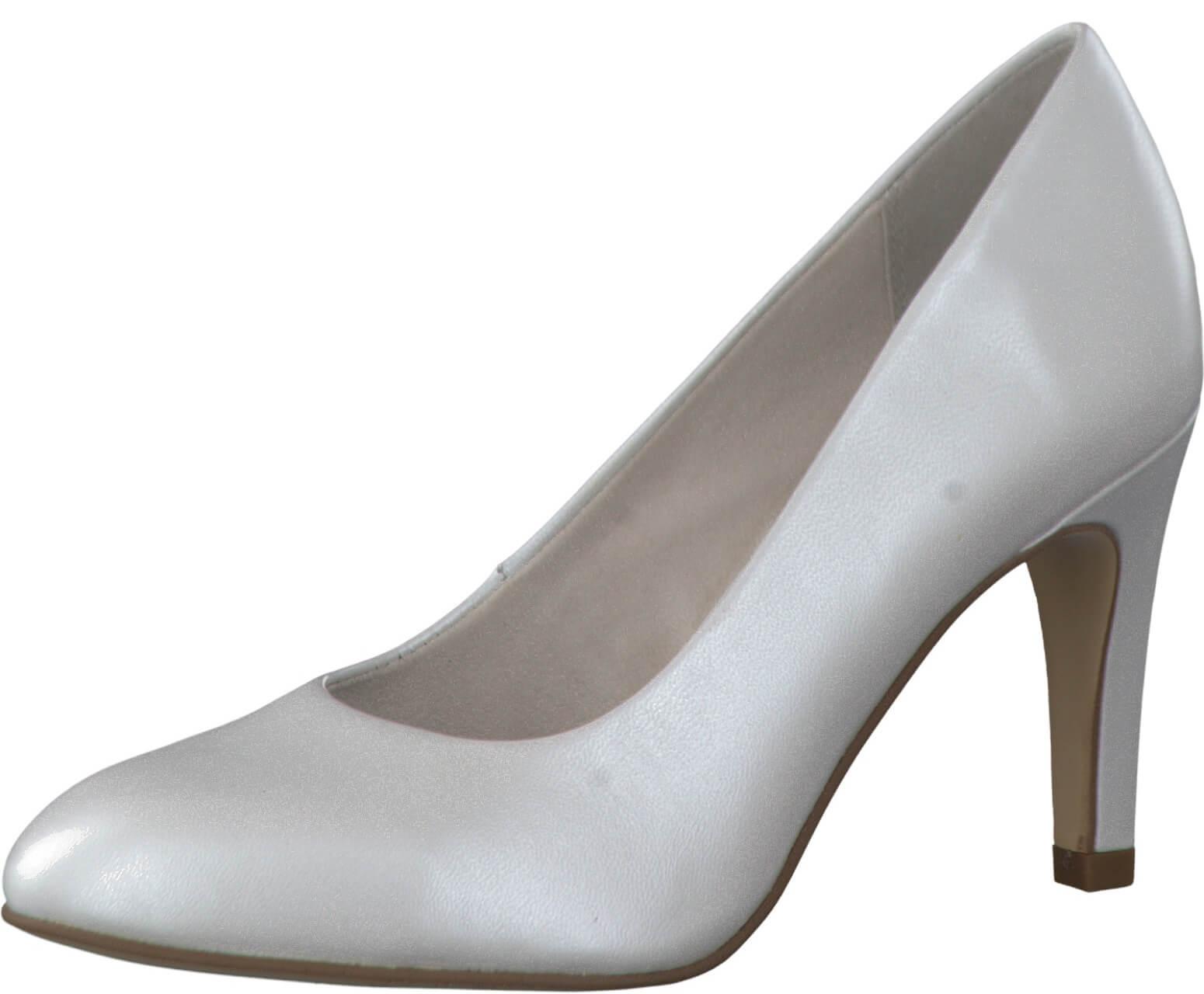 Tamaris Elegantní dámské lodičky 1-1-22451-38 White Doprava ZDARMA ... 0f26747752
