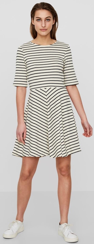 32e5a9ff9815f Vero Moda Dámske šaty Ula 2/4 Short Dress A Snow White Night Sky.  Predchádzajúci <Ďalšie >