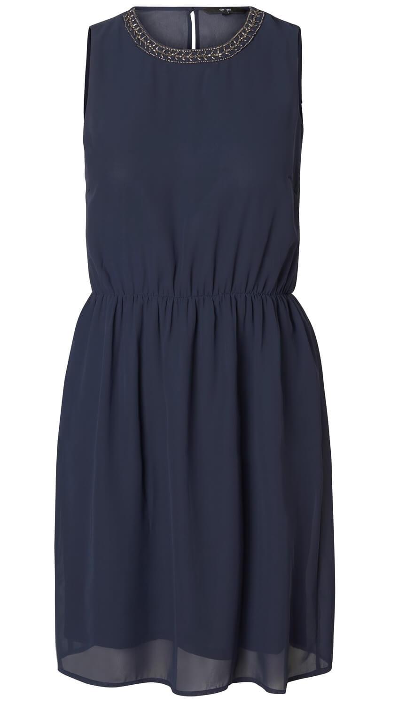 afd8909db0209 Vero Moda Dámské šaty Denice S/L Dress D2-2 Night Sky | Vivantis.cz ...