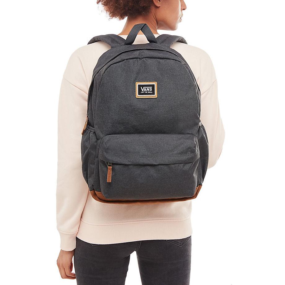 VANS Női hátizsák Realm Plus Backpack Asphalt VA34GL1O7. Előző  Következő   89e45e767a