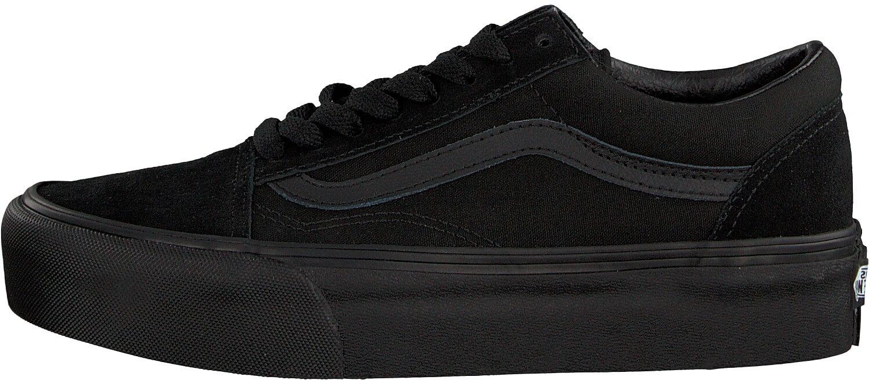 VANS Dámské tenisky UA Old Skool Platform Black Black VN0A3B3UBKA1 ... 154ebd2f942