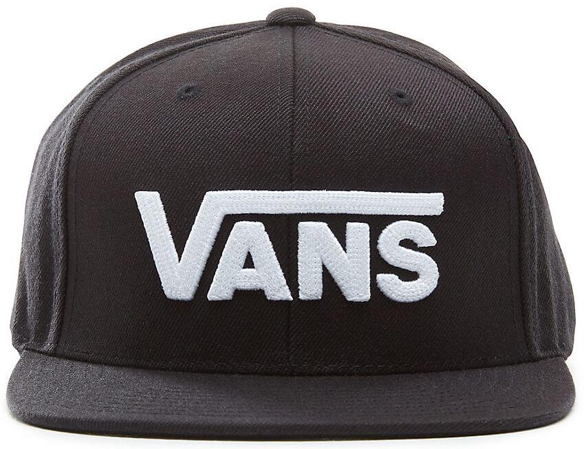 a8a6db62357 VANS Pánská kšiltovka Drop V II Snapback Black White VA36ORY28 ...