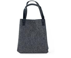 Dámska filcová kabelka Shopping Grey - sivá tr15114.1
