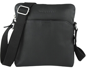 Mens crossbody bag Segno 49548201 Black