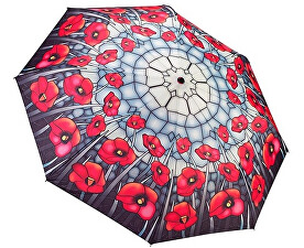 Dámský deštník Poppies folding style
